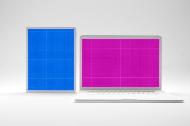 Model voor laptop en tablet