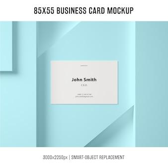 Model voor visitekaartjes