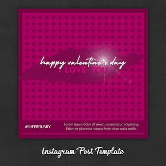 Modelli di post instagram per san valentino