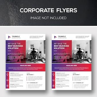 Modelli flyer aziendali