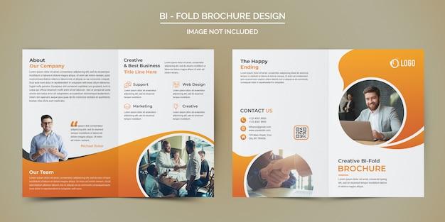 Modello brochure - business bi fold