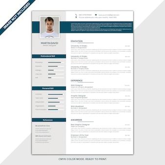 Modello cv / resume
