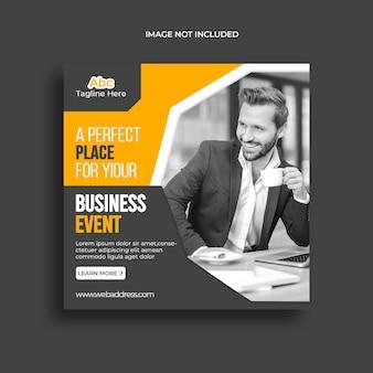 Modello di banner marketing digitale