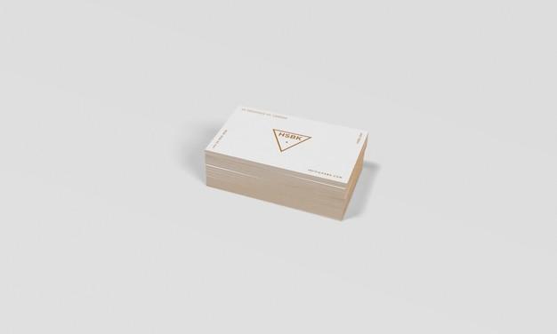Modello di biglietto da visita con colore del bordo modificabile