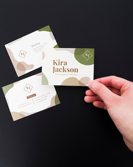 Modello di biglietto da visita minimalista