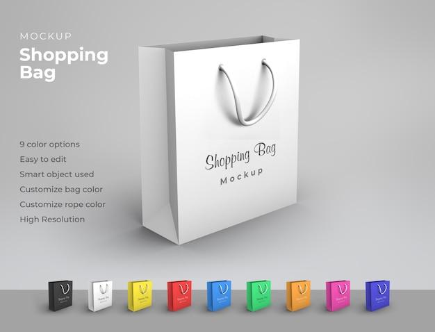 Modello di borsa della spesa