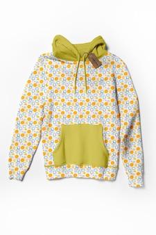 Modello di camicia multicolore mock-up
