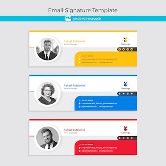 Modello di firma e-mail