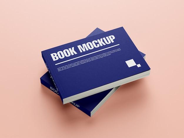 Modello di libro mockup