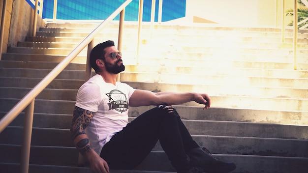Modello di maglietta mockup