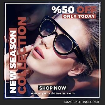 Modello di post di moda vendita di instagram