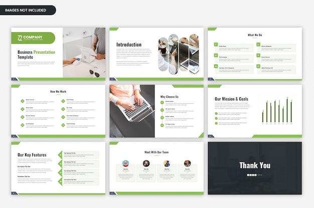 Modello di presentazione aziendale minima