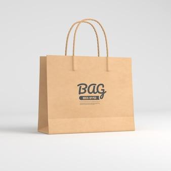 Modello di sacchetto di carta
