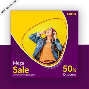 Modello di vendita post social media