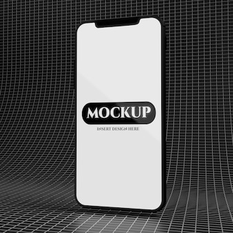 Modello esclusivo dello schermo dello smartphone per la presentazione