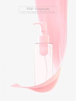 Modello psd del packaging del prodotto