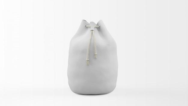 Modello realistico della borsa isolato