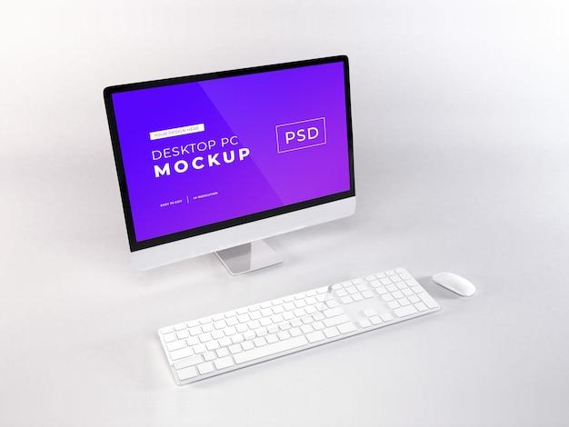 Modello realistico di personal computer