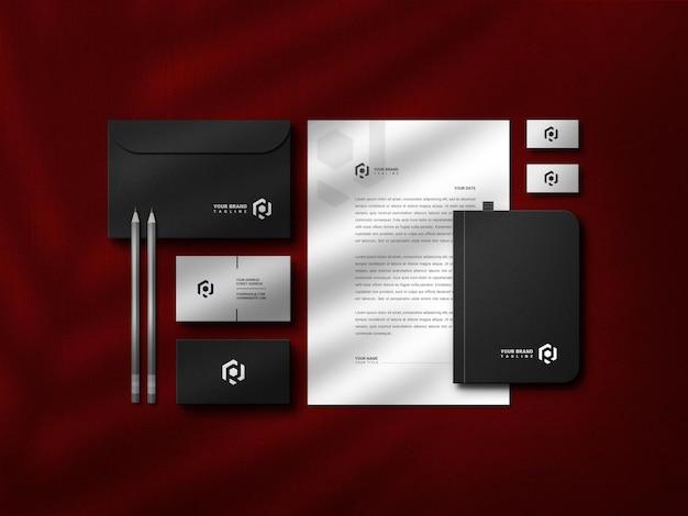 Modelontwerp voor briefpapier
