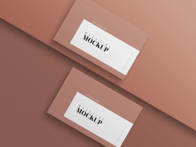 Modern dubbel tijdschriftmodel