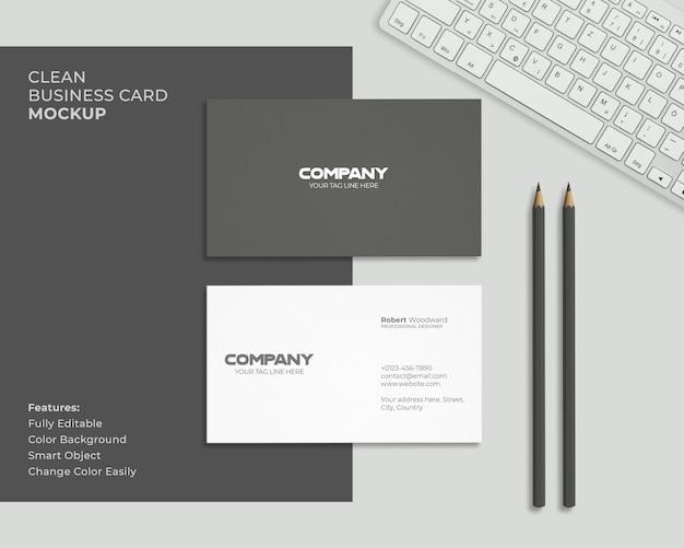 Modern en schoon visitekaartje