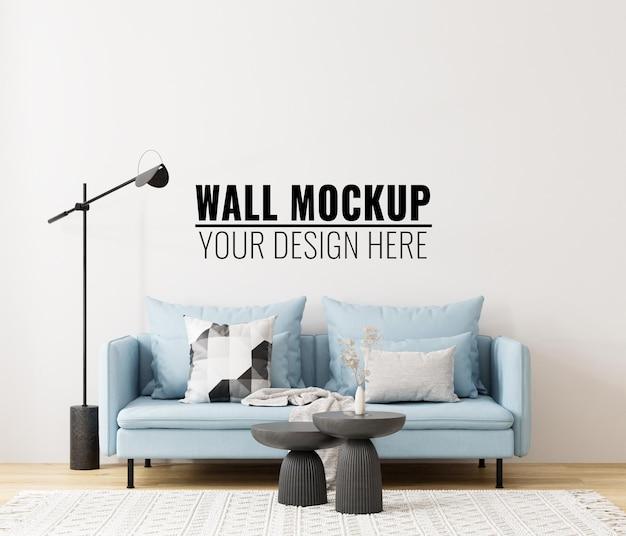 Modern interieur muurmodel 3d illustratie 3d render