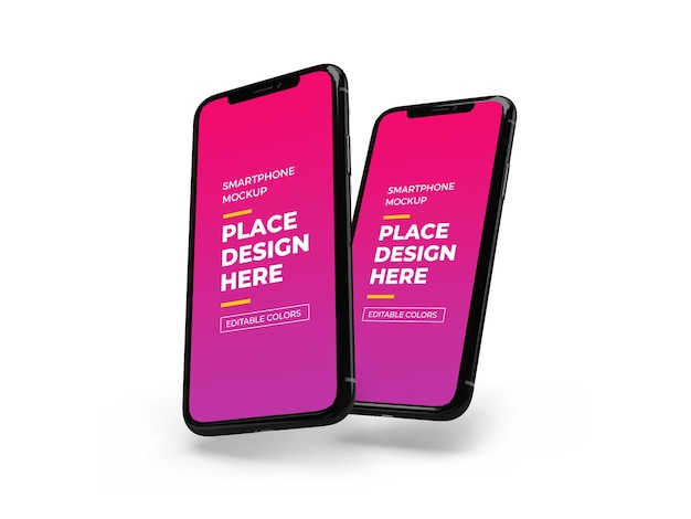 Modern smartphone-model