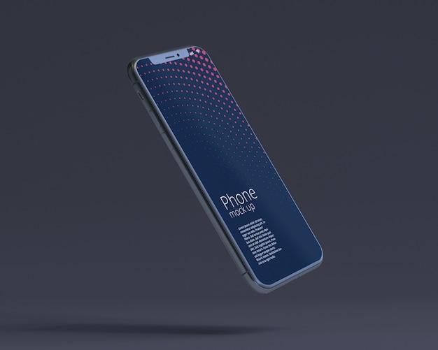Modern smartphone-schermmodel