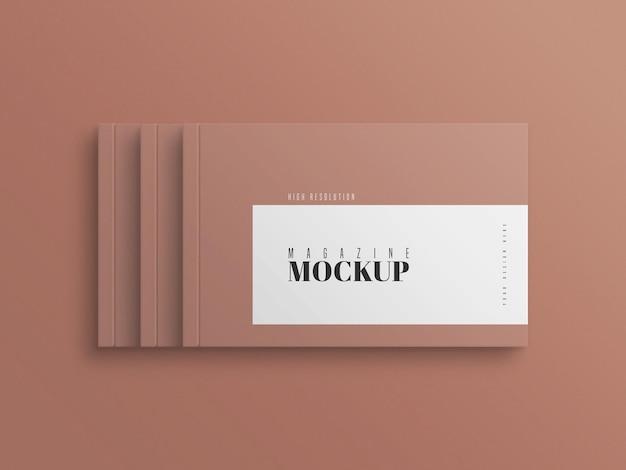 Modern tijdschriftmodel
