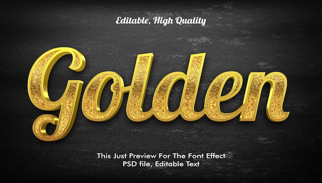 Modern vormgegeven 3d trendy, lettertype-effect mockup
