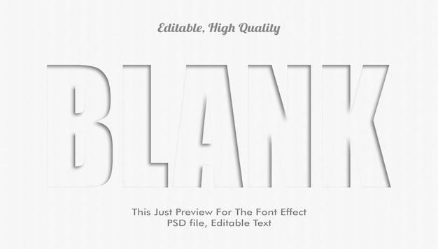 Modern vormgegeven 3d trendy lettertype-effect