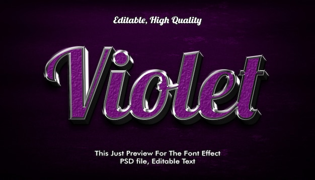 Modern vormgegeven 3d-trendy, lettertype-effect