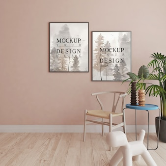 Moderne en lichte woonkamer