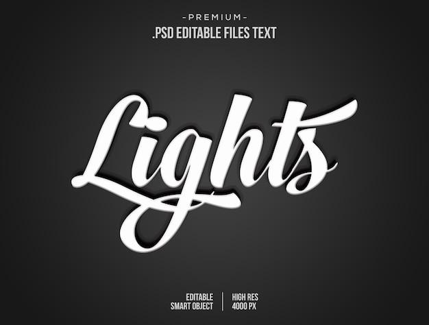 Moderne lichte tekststijl