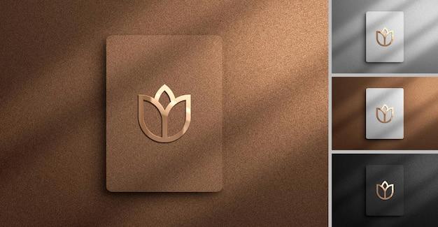 Moderne logo-mockup