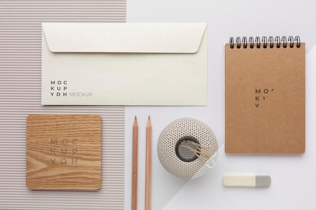 Moderne mock-up voor briefpapier