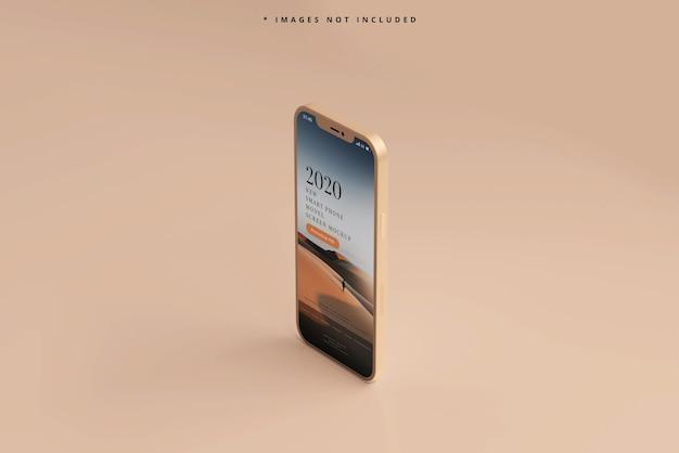 Moderne slimme telefoonmodel