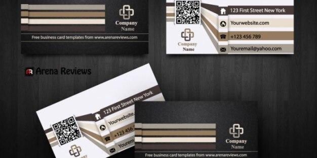 Moderno plantilla de tarjeta de empresa