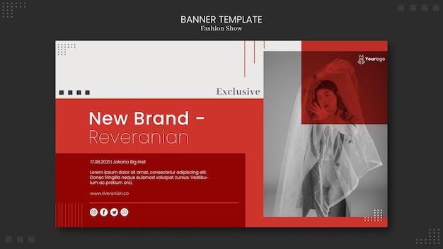 Modeshow banner thema