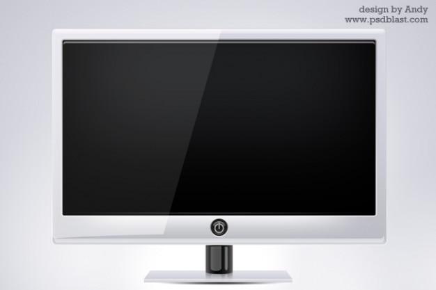 Monitor del computer schermo psd