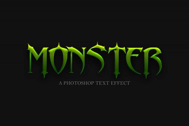 Monster teksteffect