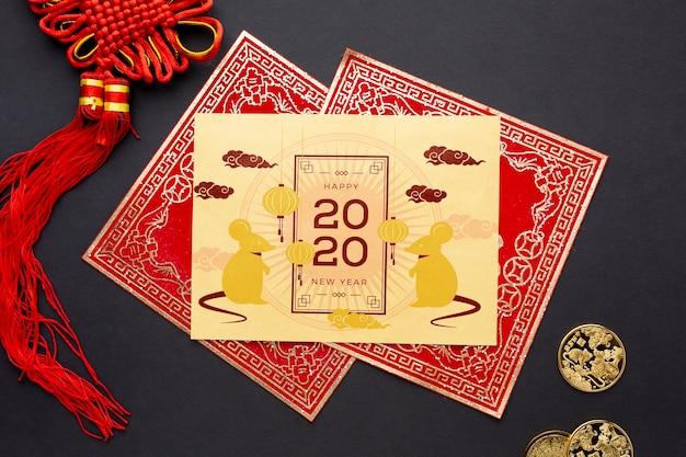 Mooi chinees nieuw jaarconcept
