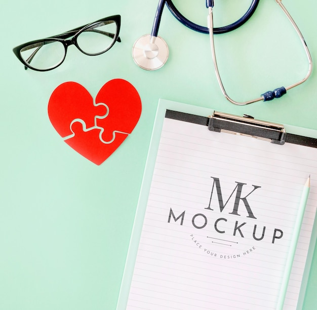 Mooi hart concept mock-up