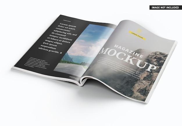 Mooi modelontwerp voor tijdschriftomslag