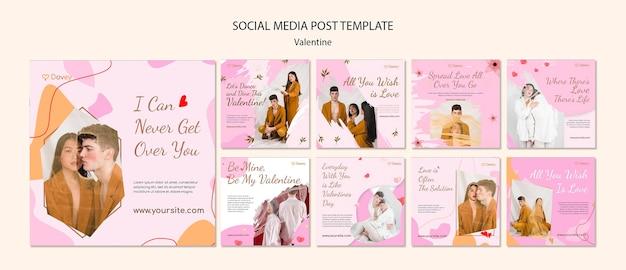 Mooie posts op sociale media voor valentijnsdag