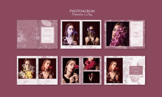 Mooie valentijnsdag fotoalbum