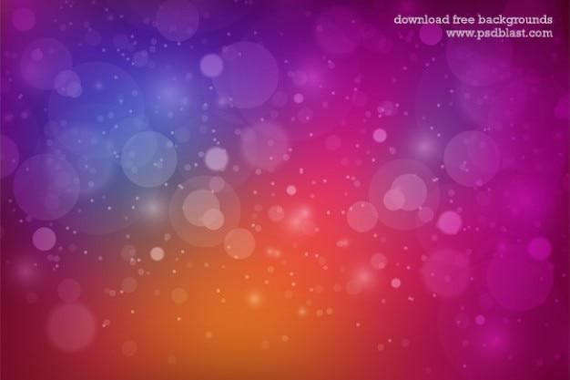 Multi sfondo colorato con le bollicine