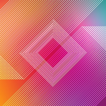 Multicolor strepen achtergrond