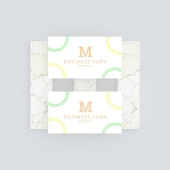 Multifunctioneel modern visitekaartje mockup