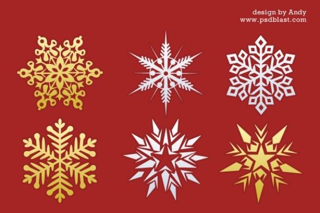 Natale, fiocchi di neve